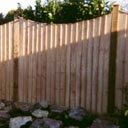 Dip Down Featheredge fence Panels