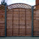 Eyebrow Up Bow & Dip fence Panels