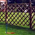 Half Round Diamond Trellis Trellis fence Panels