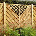 Nordic Astrid Continental Panel fence panels