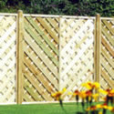 Nordic Bergen Continental Panel fence panels
