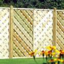 Nordic Bergen Continental Panel fence panels