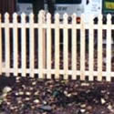 Queen Ann Picket Picket fence Panels