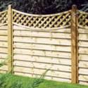 Royal Nordic Bordeaux Continental fence Panels