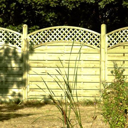Royal Nordic Dordogne Continental fence Panels