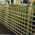 Square Trellis Dip Down Special Trellis fence panels