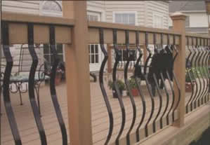 Decking Architectural Aluminium Balusters 2