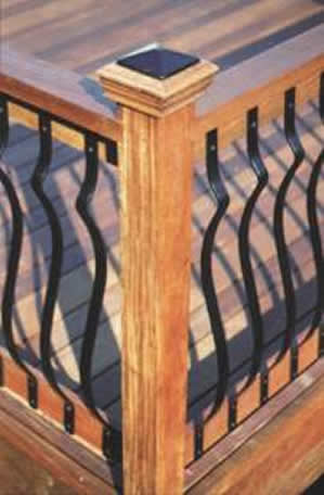 Decking Architectural Aluminium Balusters 3