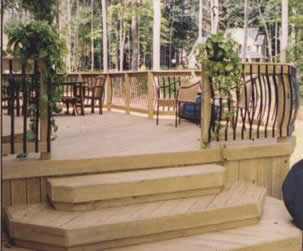 Decking Architectural Aluminium Balusters 4