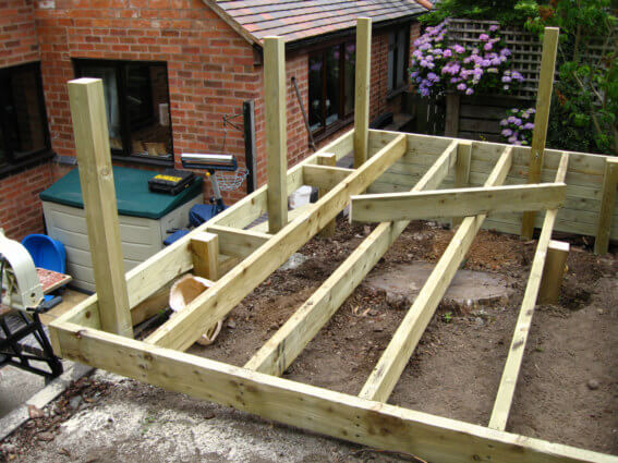 Decking Under Construction 1