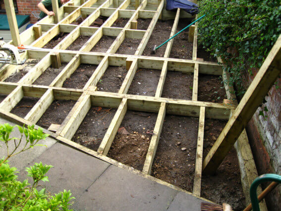 Decking Under Construction 3