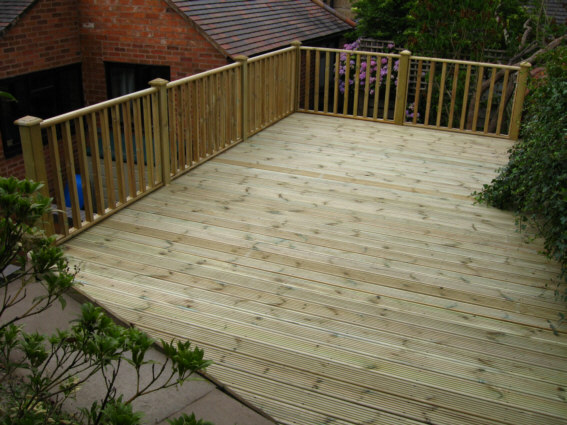 Wilfirs Deck Under Construction 8