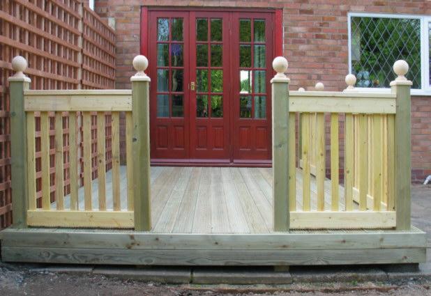 Wooden Decking 10