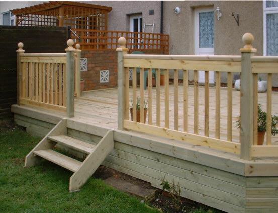Wooden Decking 11