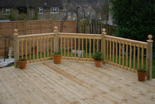 Wooden Decking 12