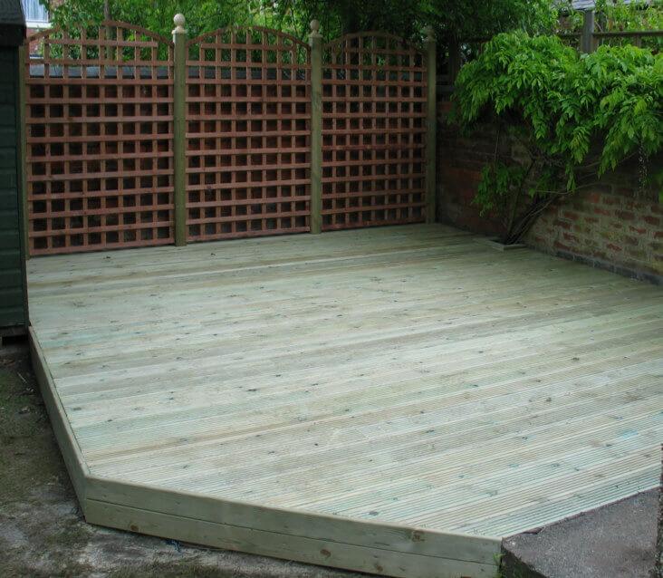 Wooden Decking 16