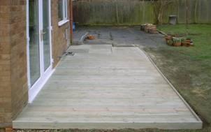 Wooden Decking 3