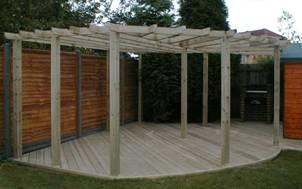 Wooden Decking 5