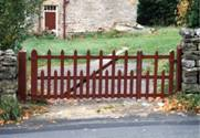 County wooden Gates 1