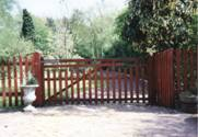 Entrance wooden Gates 2
