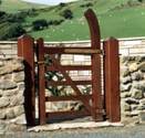 Estate wooden Gates