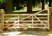 Hardwood Estate wooden Gates