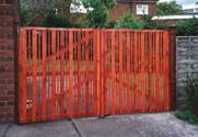 Hit and Miss Entrance wooden Gates