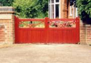 Wooden Garden Gates no 2