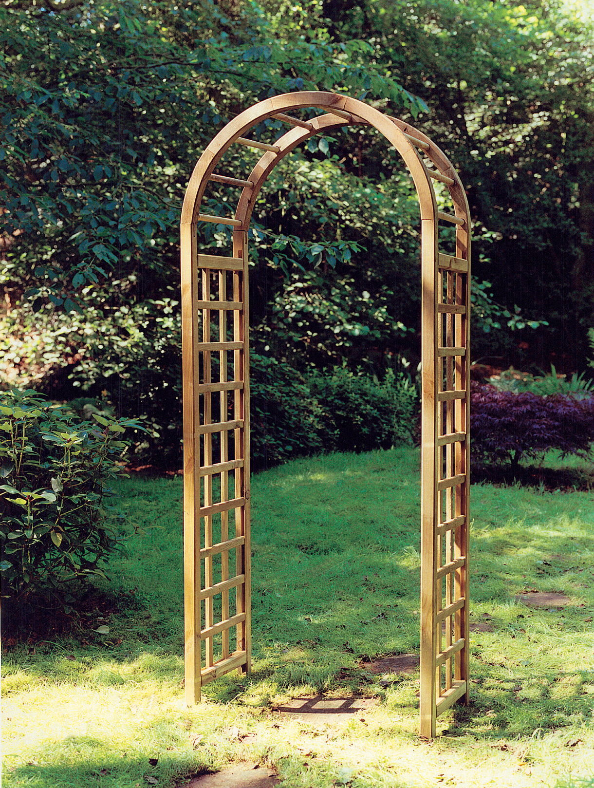 Wooden Rose Arches Wilfirs
